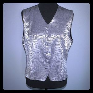 Fundamental Things Women's Evening Silver Size 14